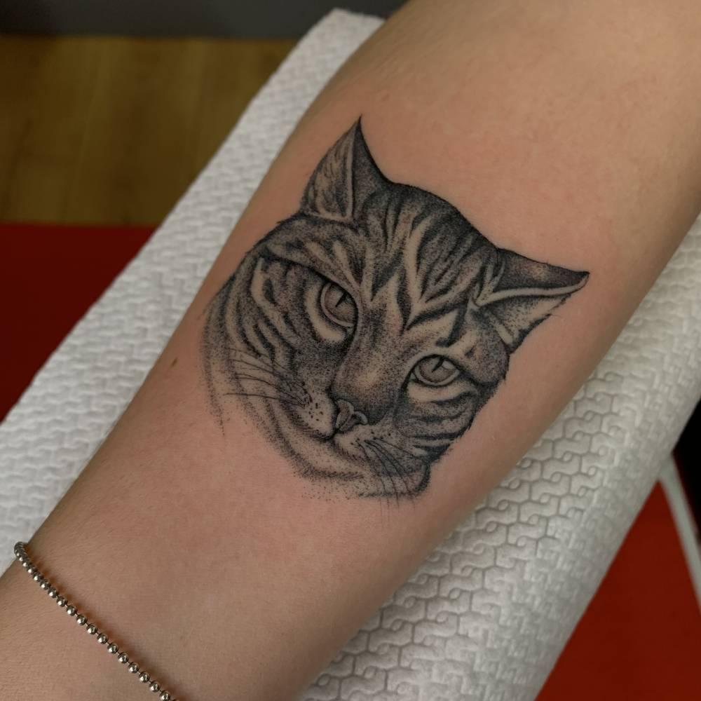 tatuaggi blackwork bologna