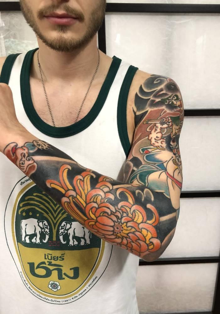 tatuaggi orientali a Bologna