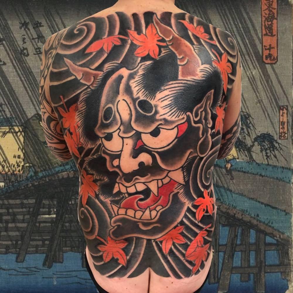 tatuaggi giapponesi Bologna